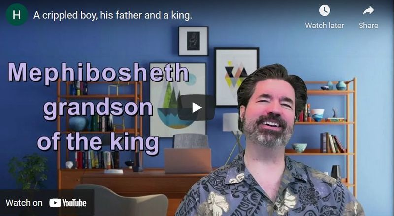 A Crippled Boy, His Father and a King