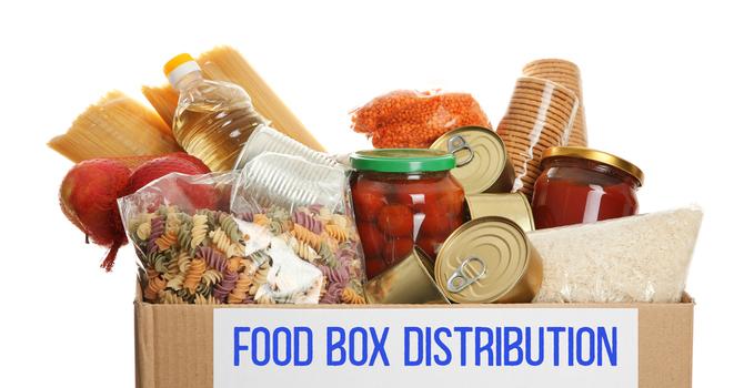 Food Box Distribution image