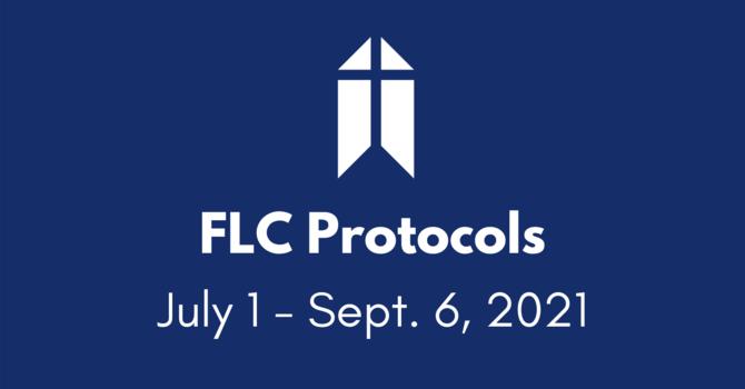 菲沙崙教會措施 FLC Protocols (July 1 - Sept. 6, 2021) image