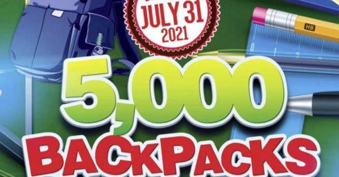 5,000 Backpack Giveaway image