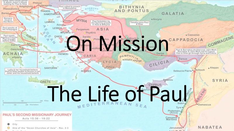 Live Like Jesus, On Mission
