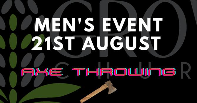 Men's Event: Axe Throwing