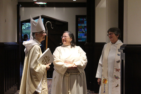 Bishop Melissa visits St. Mary's, Kerrisdale