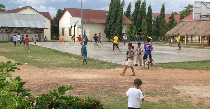 Cambodia 2014- English Camp Day 1 image