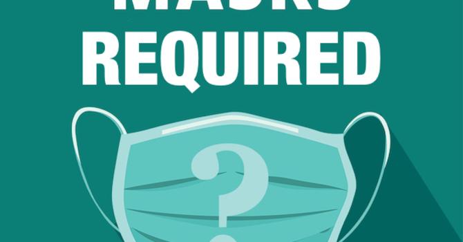 Mask mandate reinstated image