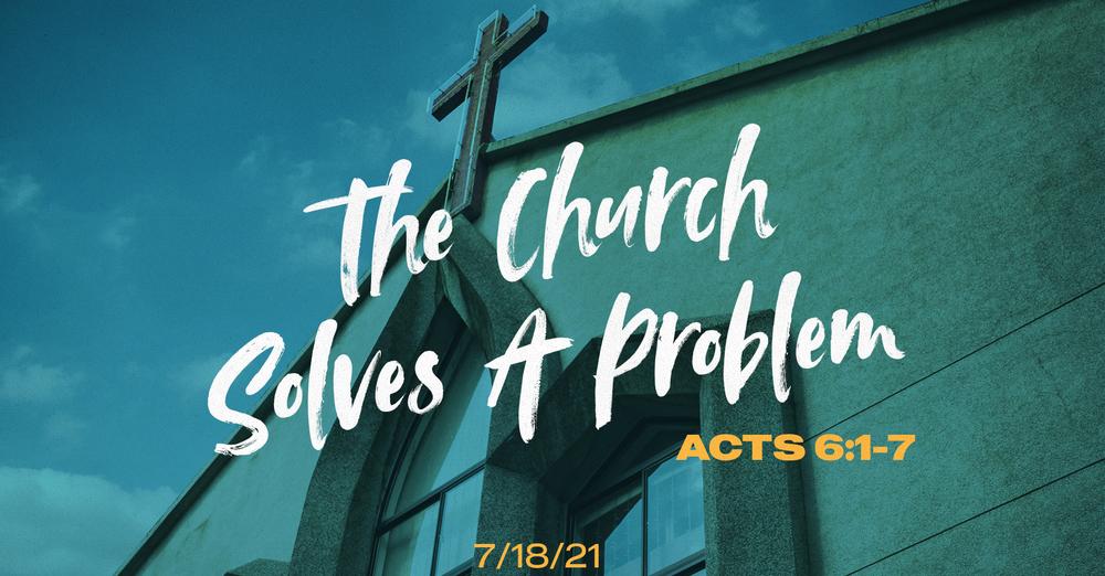 The Church Solves A Problem