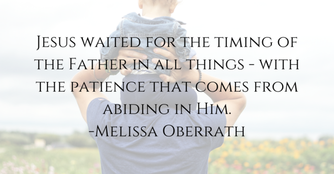 The Perfecting Power of Patience