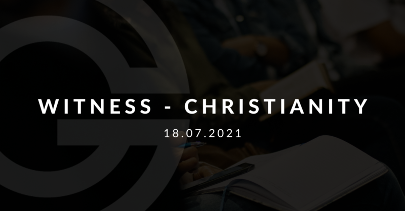 Witness - Christianity