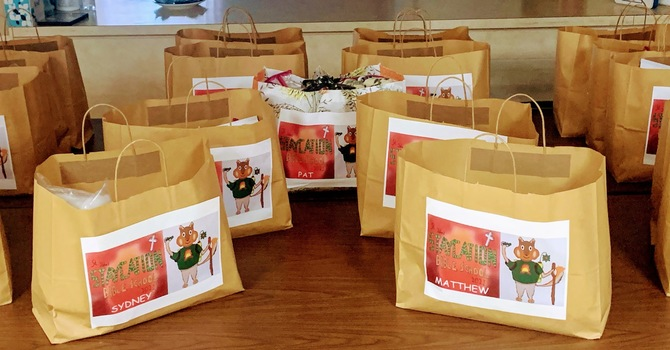 Staycation Bible School Kits Ready For Pick-Up! image