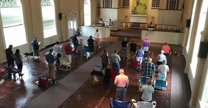 Indoor Worship to Return!  image
