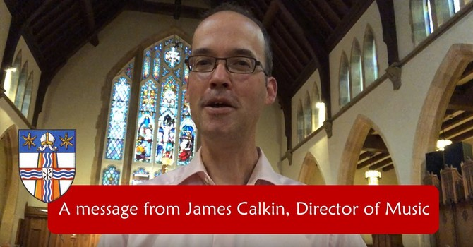 An update on music from James Calkin image