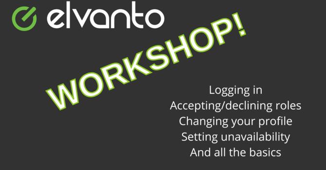Elvanto Workshop