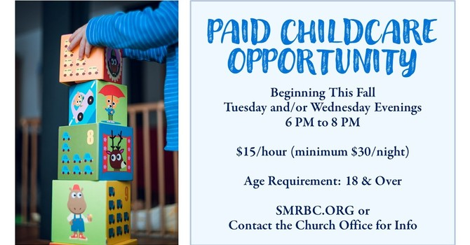 Weeknight Paid Childcare Opportunity image