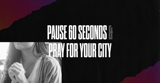 Pray for your city image