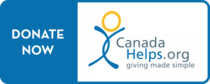 Canada Helps Donate Online button for Wesley United Church