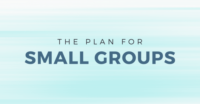 What's Happening with Small Groups? image