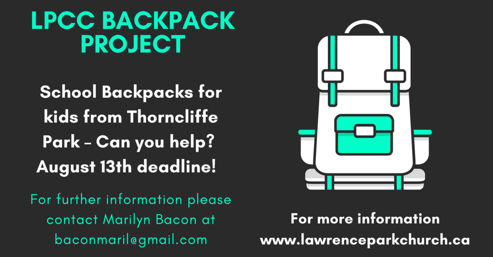 LPCC Backpack Project