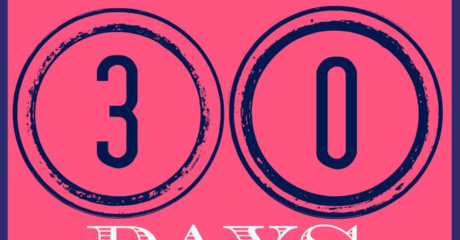 T-Minus 30 Days image