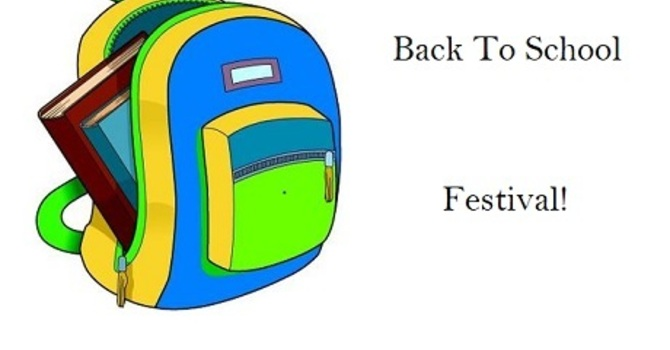 Back-To-School Festival and Backpack Giveaway