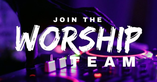 Join the Worship Team image