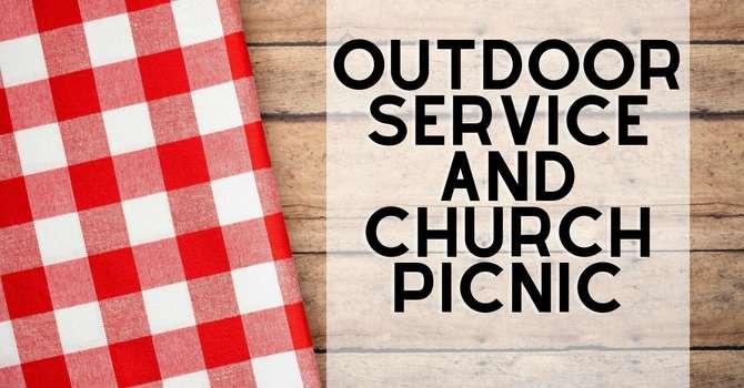 Outdoor Church Service & Picnic