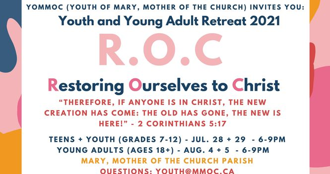 Teen, Youth and Young Adult Retreat 2k21!