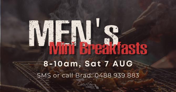 Men's Mini Breakfasts