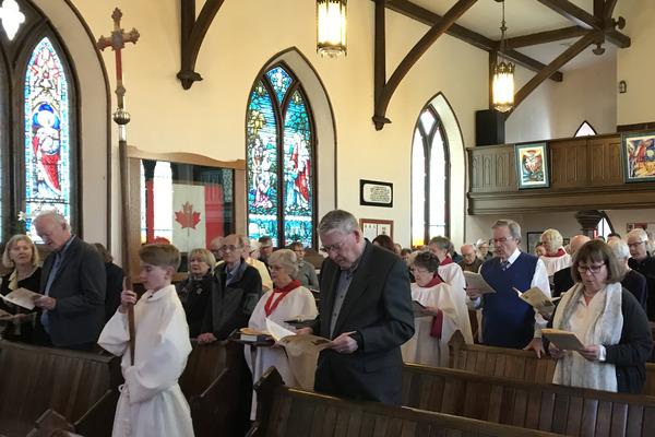 10:30 am Holy Eucharist (BAS) and Ramp Dedication