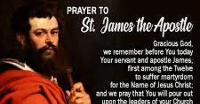 Bulletin: St James the Apostle - 8th Sunday After Trinity image