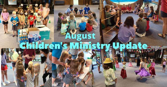 August Children's Ministry Update image