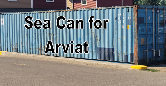 Arviat sea can clothing drive- You can Help! image