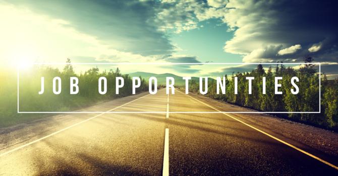 工作機會 Job Opportunities Available image