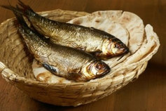 Fish and bread  1