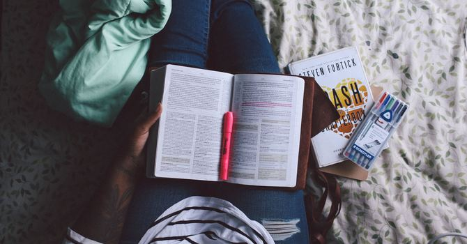Question: I've never read the Bible before, but I want to begin. Can you give me some hints for reading the Bible so that I can understand it? image