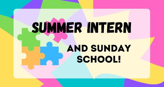 We have a Summer Intern!