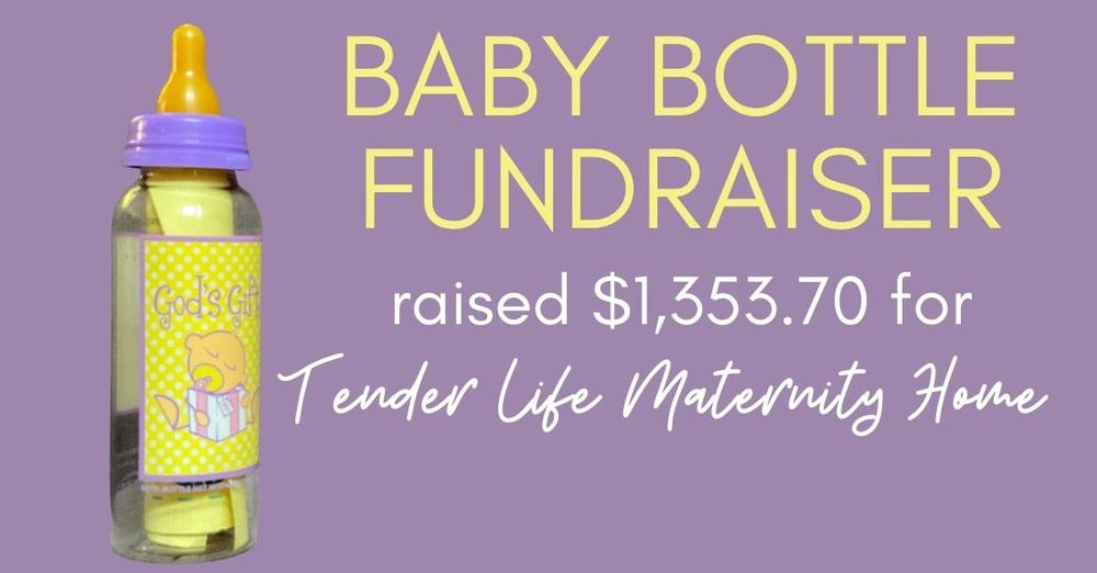Baby Bottle Fundraiser Update