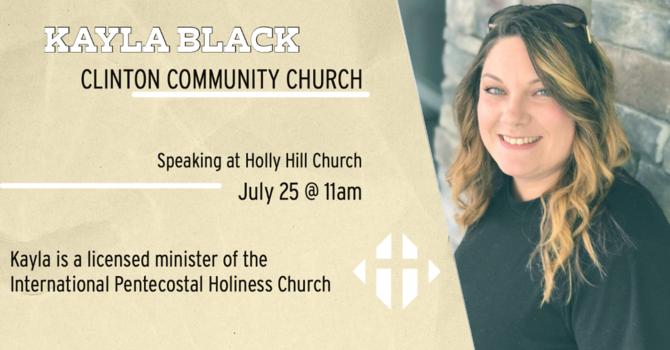Guest Speaker-Kayla Black