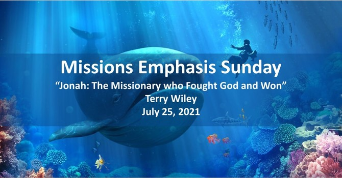 Jonah: The Missionary who Fought God and Won