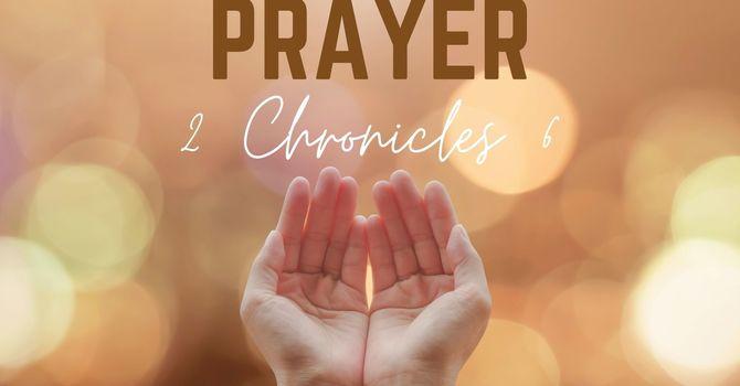 Lessons From Solomon's Prayer