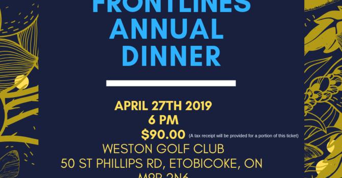 Frontlines Annual Dinner