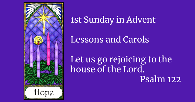 1st Sunday in Advent