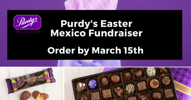 Purdy's Easter Fundraiser