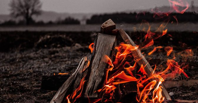 Camp Fire @ Pastor Dan's