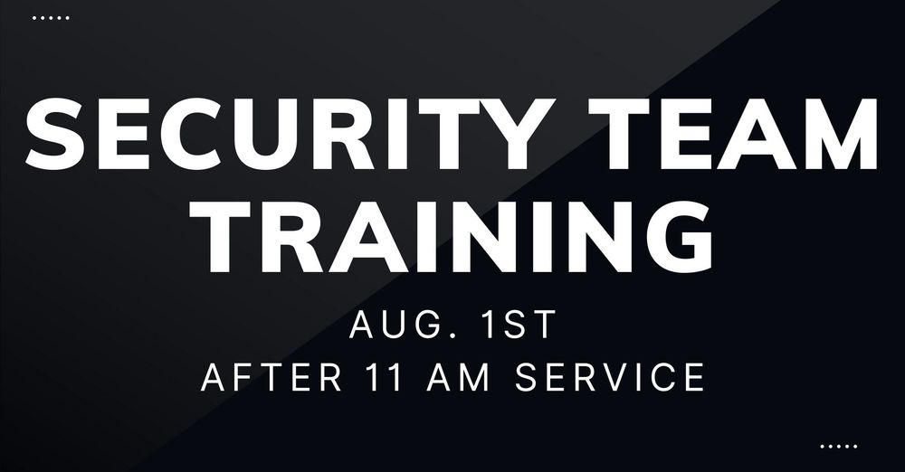 Security Team Meeting
