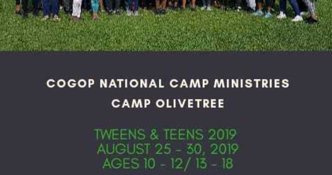 Tweens/Teens Camp