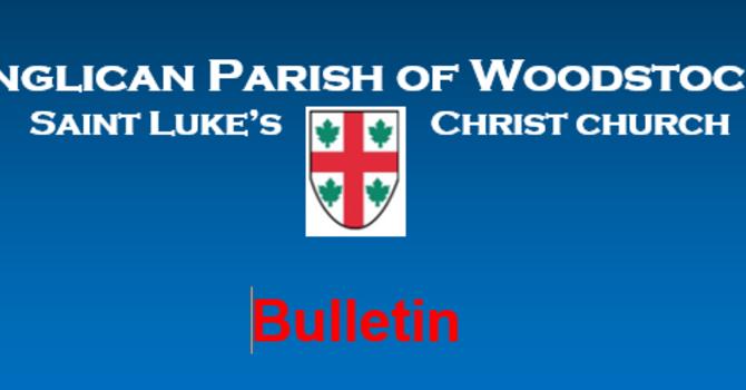 Bulletin for July 25, 2021 image