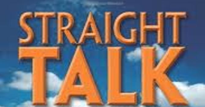 STRAIGHT TALK FROM JESUS