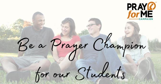 Prayer Champions image