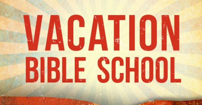 Vacation Bible School resources for home/online image