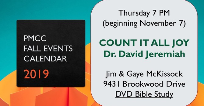 COUNT IT ALL JOY with Dr. David Jeremiah